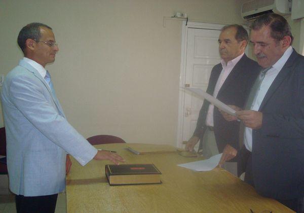 Juró el Secretario Letrado del Juzgado de Paz de Cinco Saltos