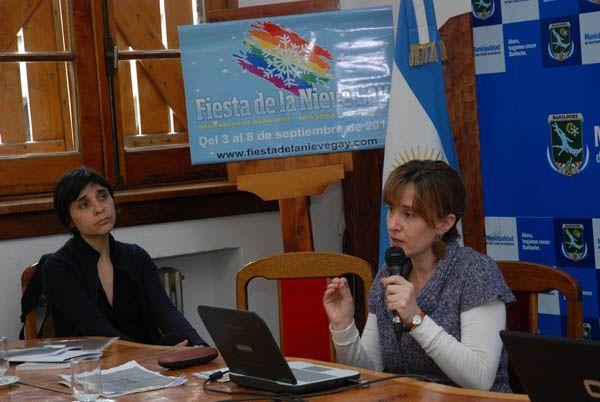 Bariloche ya vive su primera fiesta de la nieve gay