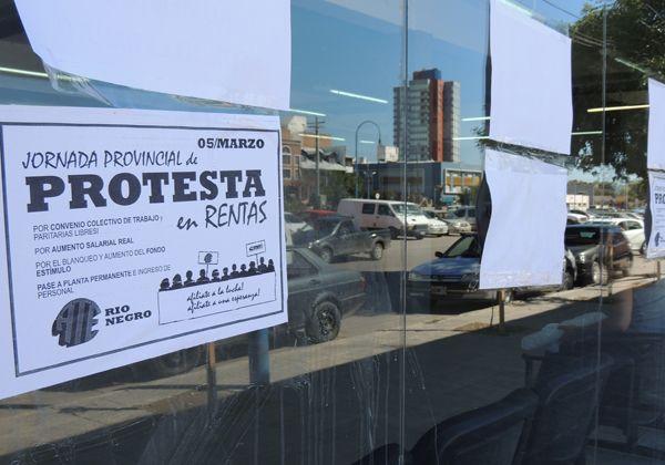 ATE protestó en Rentas de toda la Provincia