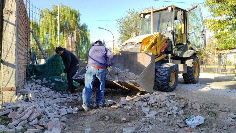 El Cipolletti Limpia ya recorre los barrios de la ciudad