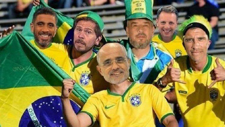 Vignolo y Ruggeri, los blancos de los memes de la selección campeona
