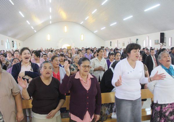 Evangélicos de todo el país se dan cita en la ciudad