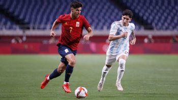 Argentina empató con España y quedó eliminada de Tokio 2020