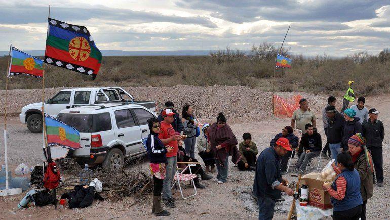 El mapa de las tierras que los mapuches quieren en Vaca Muerta