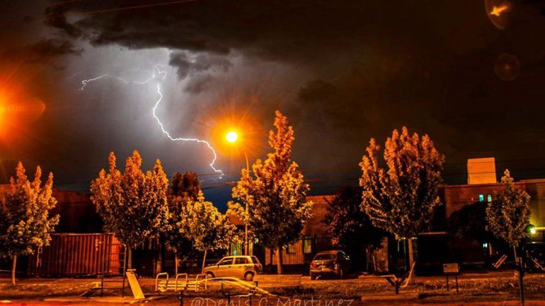 Alerta meteorológica por posibles tormentas eléctricas