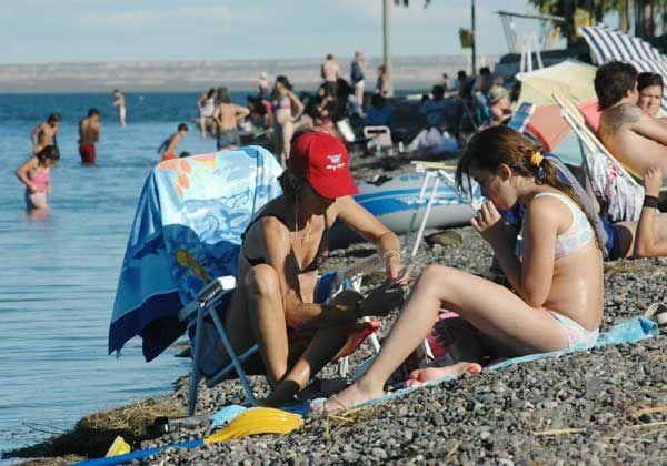 Temporada estival en el Lago Pellegrini