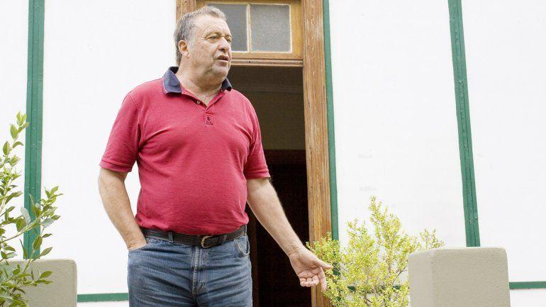 Eduardo Artero manifestó su preocupación por el estado de los canales.