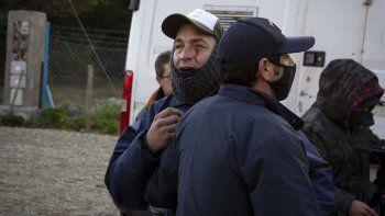 el foyel: encapuchados atacaron al equipo de tn