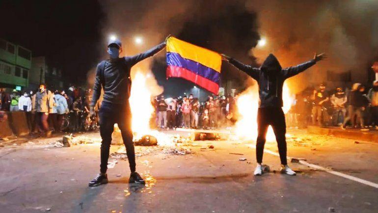 Se suspendió el partido de River por los conflictos sociales en Colombia