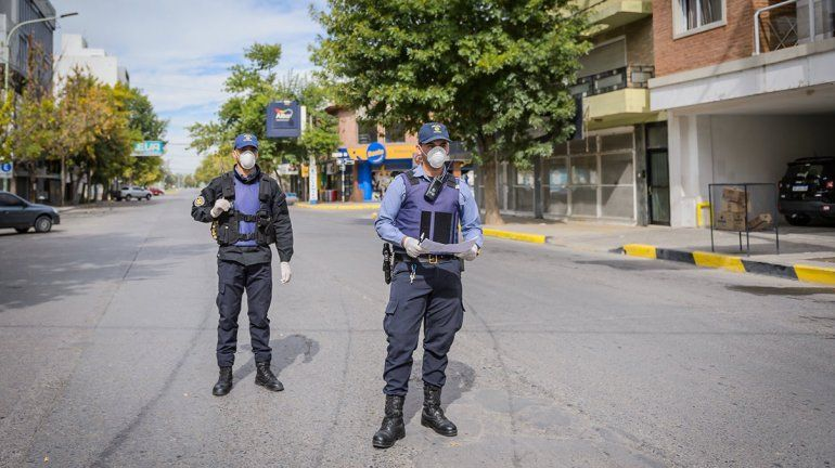 Río Negro acatará los nueve días de cuarentena estricta que decretó el presidente Fernández