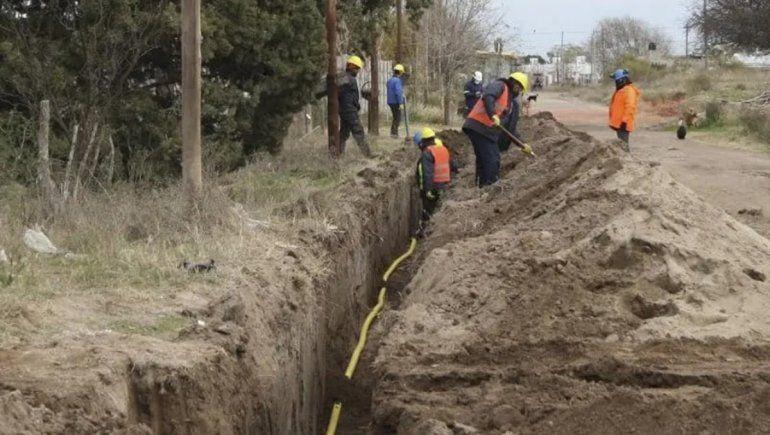 Río Negro incluirá a 1410 familias al servicio de gas