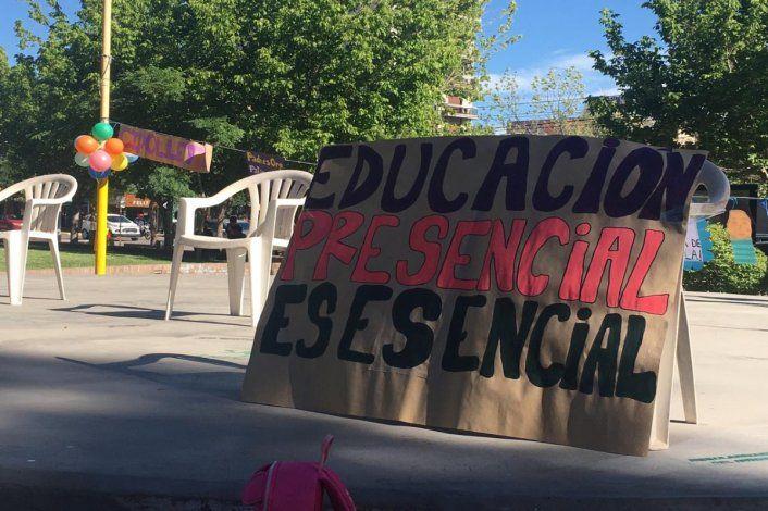 Familias: La escuela tiene que ser lo último en cerrar