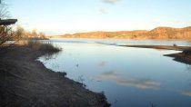 oro: bien de agua, pero atentos a la bajante del rio negro