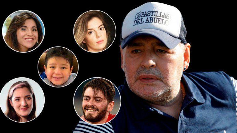 Los herederos de Maradona también se niegan a pagar el impuesto a la riqueza