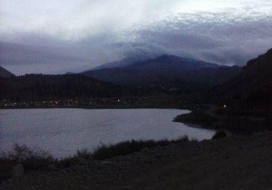Alerta roja por el volcán Copahue-Caviahue