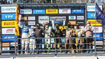 Alejandro Cancio ganó la quinta fecha del Rally Argentino en Bañado de Ovanta