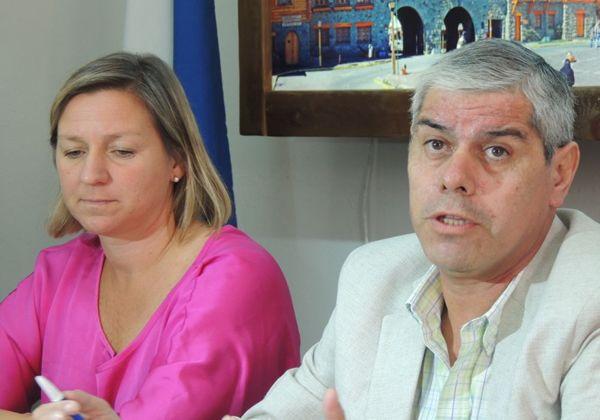 Peralta se reunió con Martini y respaldó su gestión en Bariloche
