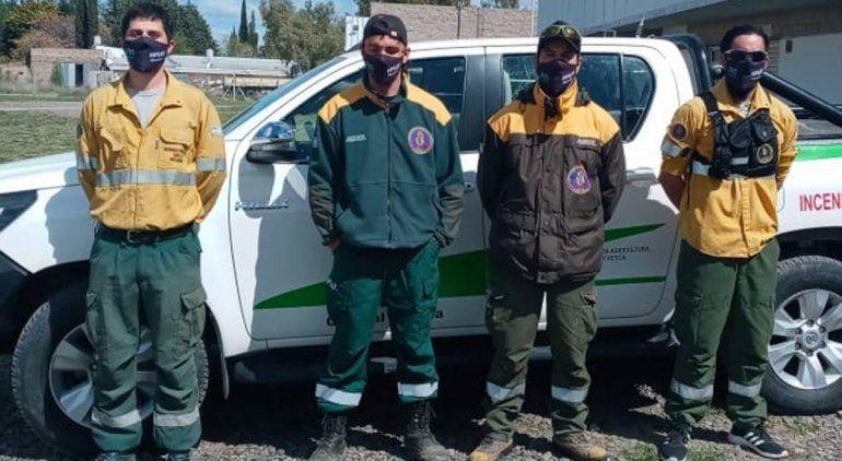 Brigadistas rionegrinos combatirán el fuego en Córdoba