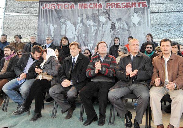 Weretilneck, en el acto de homenaje a las víctimas de la Masacre de Trelew