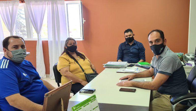 Sierra Grande: ATE se reunió con autoridades municipales para bajar tensiones