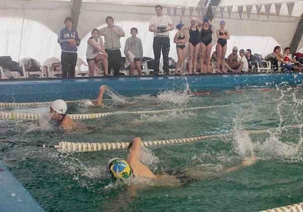 Segunda fecha en el provincial de natación