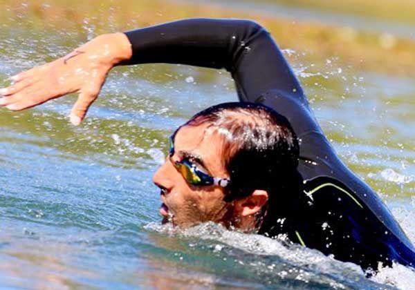 Asquinazi se quedó con el 3º acuatlón