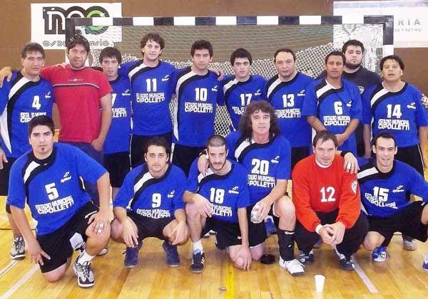 Estadio Municipal, al Nacional B de handball