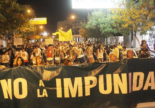 Una multitud de cipoleños marchó exigiendo más seguridad y justicia