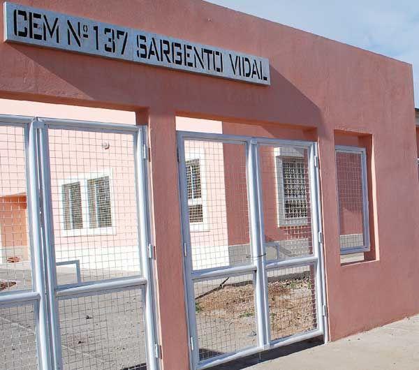 Nuevas instalaciones para CEM Nº 137 de Sargento Vidal