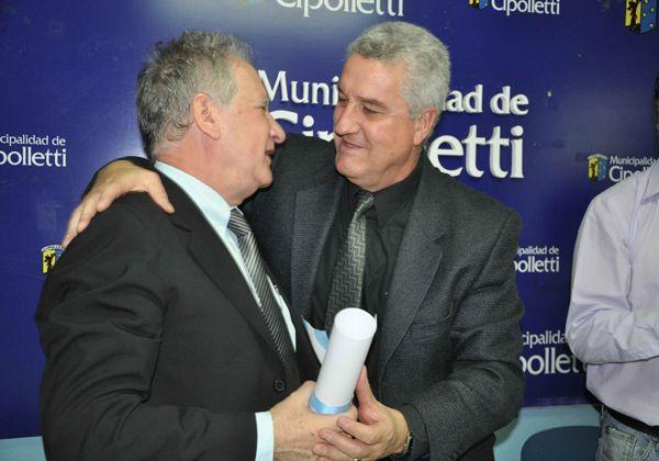Baratti declaró visitante ilustre a Embajador de Israel