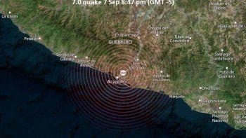 terremoto de 7,1 grados sacudio mexico