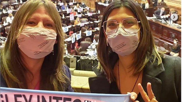 La emoción de la cipoleña Ornella Infante por la ley laboral trans