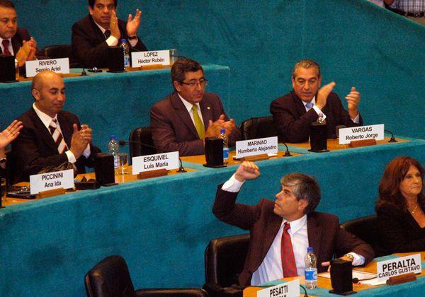 Los legisladores evocaron la militancia de Soria