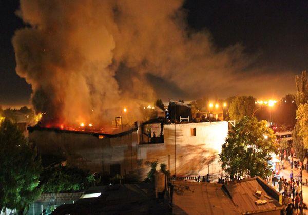 Siete departamentos se incendiaron en el barrio Villarino