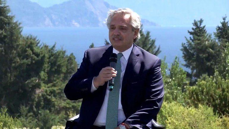 El Presidente visitó Río Negro y destacó el trabajo del Invap