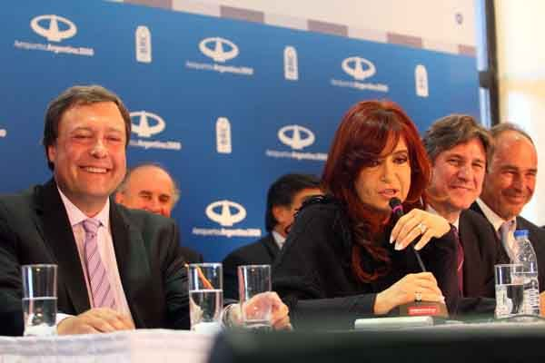 La Presidenta inauguró obras desde Bariloche