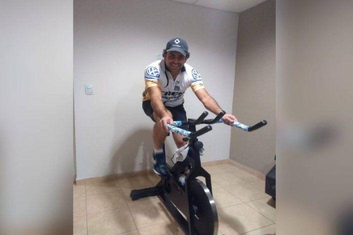 Pablo De Rosso, el cipoleño que fabrica bicis de spinning