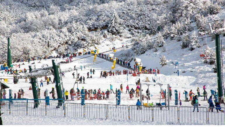 Con una nevada espectacular, quedó inaugurada la temporada invernal